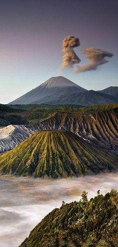 Mount Bromo, Java, #Indonesia