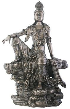 Water and Moon Kuan Yin