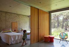 Interior Walls, Interior Design, Zeitgenössisches Apartment, Co Housing, Movable Walls, Room Partition Designs, Divider Design, Contemporary Apartment, Natural Home Decor