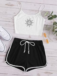 Really Cute Outfits, Cute Lazy Outfits, Pretty Outfits, Stylish Outfits, Cute Pajama Sets, Cute Pajamas, Pajamas Women, Girls Fashion Clothes, Teen Fashion Outfits