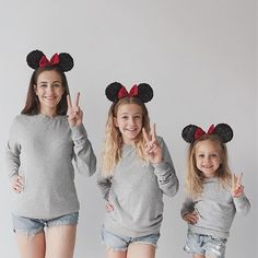 Disneyland and Minnie Mouse ears. I mean I know its such a cliché but I couldnt. Mother Daughter Photos, Mom Daughter, Daughters, Minnie Mouse, Mouse Ears, Baby Photos, Family Photos, Mommys Girl, Girl Dancing