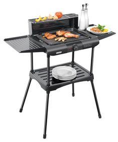 Elektrogrill Unold Vario Barbecue-Grill / 1.600 W / Tisch- und Standgrill