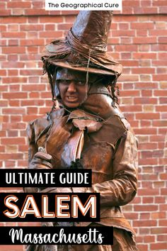 Here's my guide to the must see sites and attractions in Salem Massachusetts. Salem is an easy day trip from Boston. Salem embraces its past, when the infamous 17th century Witch Trials defined the town. Salem is full whimsical magic shops and ghostly tour options. Salem's must visit destinations are devoted to its witchy history. But Salem is also a beautiful and historic seaside town with Colonial architecture and delicious seafood cuisine. Salem Itineraries | What To Do and See in Salem