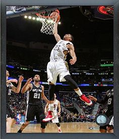 Anthony Davis New Orleans Pelicans 20132014 NBA Action Photo Size 12 x 15  Framed  gt  223a5495703ad