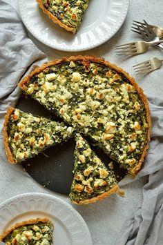 Spinach, Ricotta, and Feta Tart