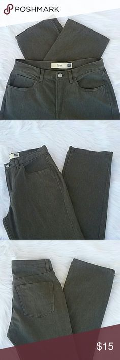 """The Gap Gray Stretch Jeans Super soft, muted gray strerch jeans from the gap.  These are more of a """"jegging"""" than jeans. They say flare, but I think they are more straight leg. In EUC, these are like brand new! GAP Jeans"""