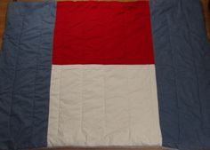 VTG Tommy Hilfiger Twin comforter Flag white blue red denim Chambray by AmazingTasteVintage on Etsy
