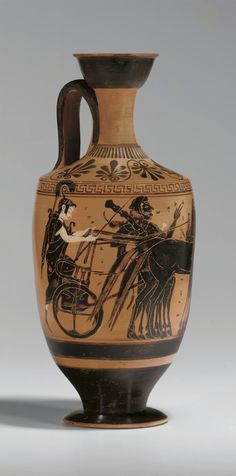 AN ATTIC BLACK-FIGURED LEKYTHOS ATTRIBUTED TO THE LEAGROS GROUP, CIRCA 520-500 B.C.