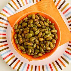 Crunchy Edamame | MyRecipes.com #MyPlate #protein