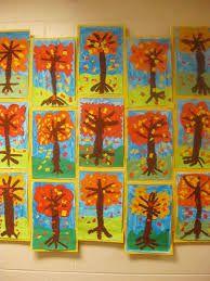 """Résultat de recherche d'images pour """"fall art projects for elementary students"""""""