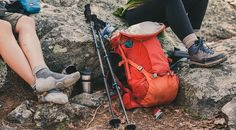 Offering stability for days in the backcountry, the REI Carbon Composite Trekking Poles have a lightweight design and adjustable locking mechanisms.