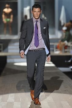 Dsquared2 Spring/Summer 2007 Menswear show report
