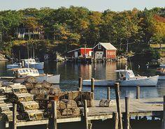 Christmas Cove, Maine | copyright James Randklev Photography