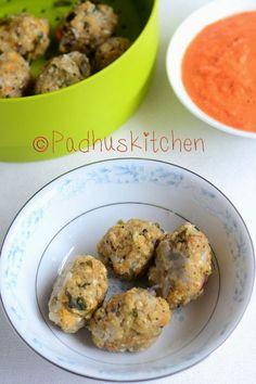 Oats Kozhukattai-Oats Vegetable Kara Kolukattai Recipe-Steamed Oats Dumplings