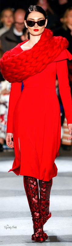 Christian Siriano Fall 2016 RTW