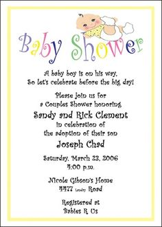 Baby shower invitation wording baby shower ideas baby shower invite adoption baby showers invites and twin adopted baby shower invitations at cardsshoppe stopboris Choice Image