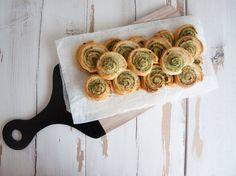 Wild Garlic Pesto Snails