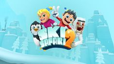 Ski Safari 2 apk download is arcade game where you play a skier who must descend as quickly as possible on the slope of a snowy mountain.