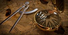 nautiki-orologia Vintage Compass, Santorini Island, Jpg, Greece, Clock, Cords, Knots, Calendar, Hourglass