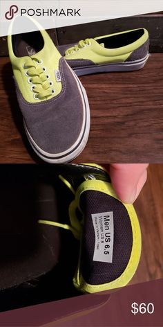 cab2e75baa442 13 Best Vans - grey with gold tan accent images