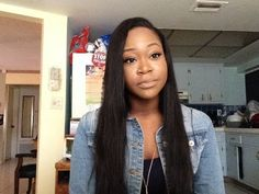Deep Side Part Quick-Weave | MS Here Virgin Hair Company - YouTube