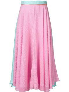 ROKSANDA Long Colour Block Skirt. #roksanda #cloth #skirt