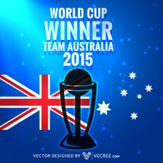 Vector Free Download, Free Vector Graphics, Cricket World Cup Winners, Icc Cricket, World Cup Final, Vector Design, Finals, New Zealand, Australia