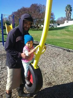 "Daniel & Daughter ""Vanilla-May"" !! #FunTimeAtThePark #DaddyAndDaughter ❤"