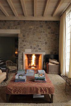 stonework, limestone, white oak