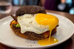 NY: Estela - go for brunch (order: burrata with salsa verde; avocado, pancetta, and egg sandwich; cod with potatoes, romesco, and aioli; steak and eggs.)