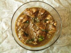 Pressure Cooker Pepper chicken gravy - from The Hindu Indian online newspaper.      @hippressurecook said: If you want to try it, one whistle translates into pressure cooking chicken for 5-7 minutes at high pressure!