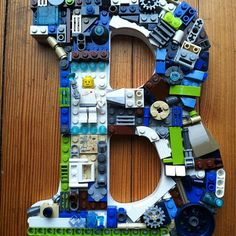 You can also show off your passion for Lego blocks with these great wall decorations! | 21 Ways To Upcycle Your Lego