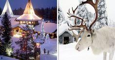 Laponia es el lugar ideal para pasar Navidad, es un sitio mágico con paisajes inolvidables, y eso nos muestran estas 18 fotografías que te mostramos hoy.