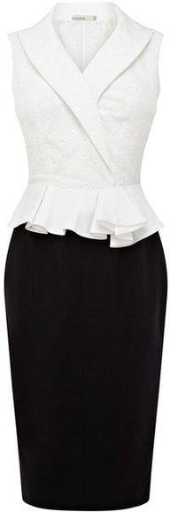 elegant business dress #job #work #fashion  www.Your24hCoach.com