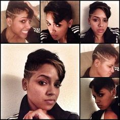 Just because I can!!! LOVING this new cut... Thanks to @tpnotchstatus_ypr @industry_cutz . Just glad I didn't hv to wait hrs to get in that chair cuz his clientele is crazy!!!!  This dude is ridiculously talented