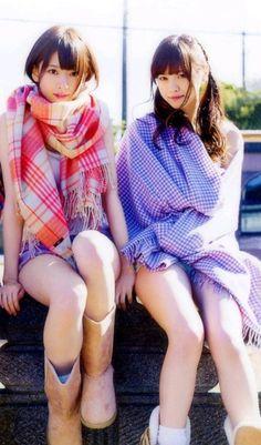 Nanami Hashimoto, Nanase Nishino 橋本奈々未 西野七瀬 乃木坂46