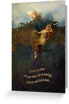 Art And Illustration, Illustrations Posters, Ange Demon, Mystique, Moon Art, Pics Art, Stars And Moon, Sun Moon, Beautiful Words