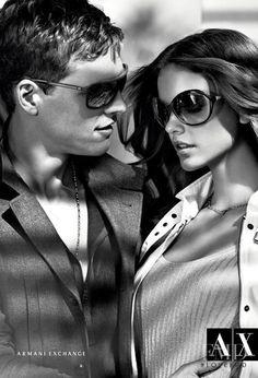 e15d11020fa8 Barbara Palvin - Armani Exchange - Spring 2012 Ready-to-Wear - milan -  Fashion Advertisement