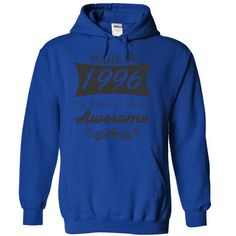 Made in 1996, 19 years of being awesome T Shirts, Hoodie. Shopping Online Now…