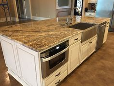 Island Countertops Works By Luxury Countertops