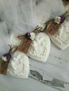 Wedding Favors and Gifts Wedding Shower Favors, Baptism Favors, Wedding Favors Cheap, Wedding Gifts, Recuerdos Primera Comunion Ideas, Engagement Favors, Decorative Soaps, Soap Carving, Soap Favors