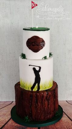 Celebration Cakes-Page 1 Golf Birthday Cakes, 50th Birthday, Golf Cakes, Birthday Ideas, Piano Cakes, Easy Party Decorations, Sport Cakes, Cupcake Cakes, Fun Cakes