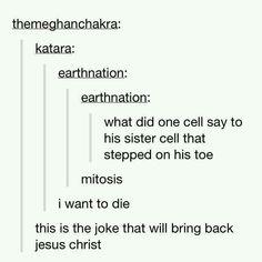 My toe, sis!