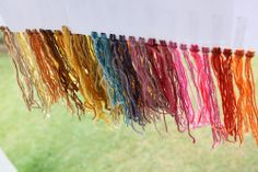 Dye with nature!! Learn how to use plants and herbs in fun dye projects!  #diy #ecocraft #Dyecraft http://wingswormsandwonder.com/2014/04/natures-dyes/