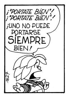 Risultati immagini per mafalda quino en espanol Great Quotes, Me Quotes, Funny Quotes, Spanish Humor, Spanish Quotes, Mafalda Quotes, More Than Words, Decir No, Laughter