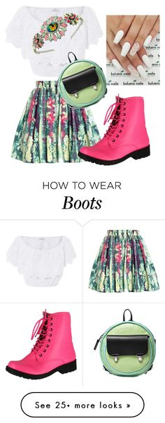 """How I like my boots"" by bijouxinedit on Polyvore featuring Reiss, Miguelina, Topshop, Qupid and Alisa Smirnova"