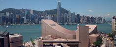 Hong Kong Cultural Centre at the southern tip of the Kowloon Peninsula