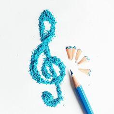 Music Pencil Shaving Art by Megan Maconochie on Instagram
