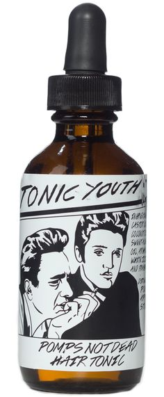 POMPS NOT DEAD TONIC YOUTH HAIR TONIC $10.00 #grooming