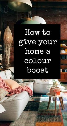 How to give your home a colour boost  usingf paint and art and wallpaper and furnishings  and how it can transform the home and your interior desuign a scheme with color  #color #colour #interiordesign #ABeautifulSpace Decorating Tips, Decorating Your Home, Interior Design Degree, Interior Window Trim, Home Organisation, Beautiful Space, Beautiful Homes, Beautiful Interiors, Simple House